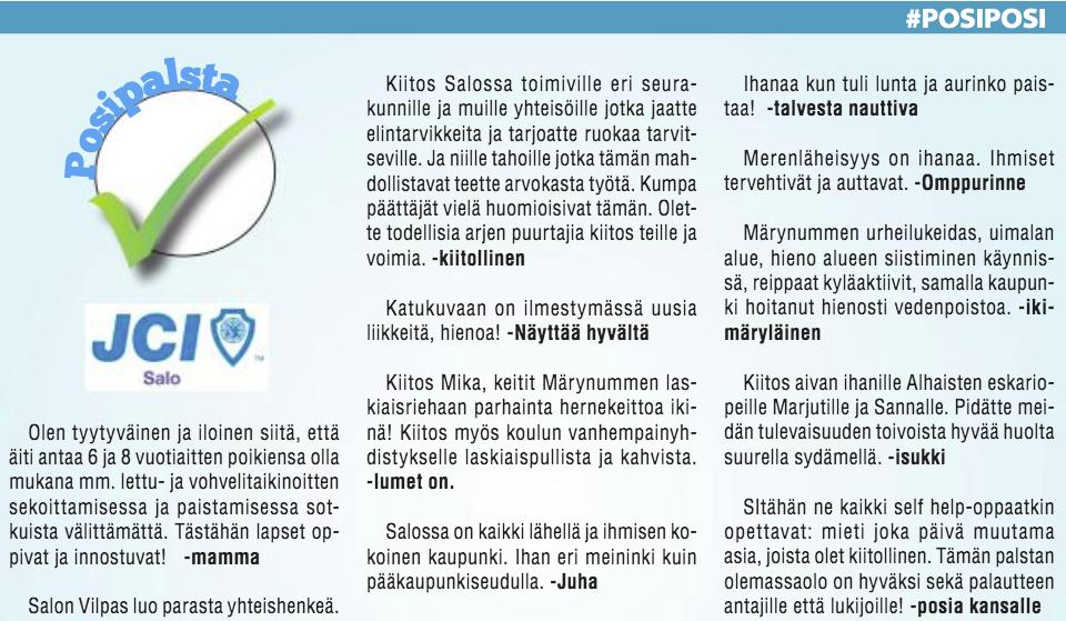 Kuva Posipalstasta Salonjokilaaksossa, julkaistu 5.3.2020